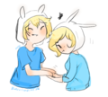 Fionna & Finn - adventure-time-with-finn-and-jake fan art