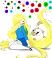 Fionna and Cake - adventure-time-with-finn-and-jake fan art