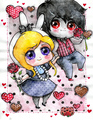 Fionna and Marshall Lee -Happy Valentines दिन
