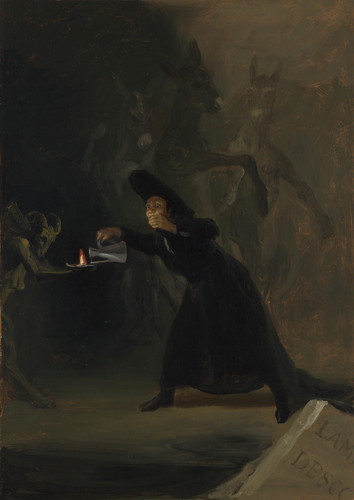 Francisco de Goya - A Scene from 'The Forcibly Bewitched'