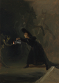 Francisco de Goya - A Scene from 'The Forcibly Bewitched' - fine-art photo