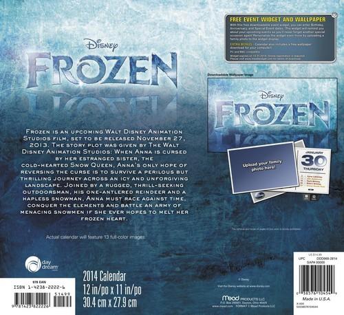 Frozen - Uma Aventura Congelante Calendar