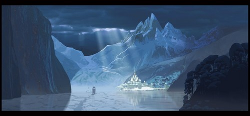 Frozen Concept Art of Arendelle (hi-res)