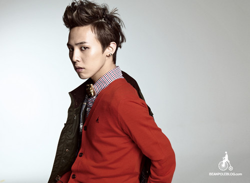 G-DRAGON for haricot, fève Pole (2011 F/W Campaign)