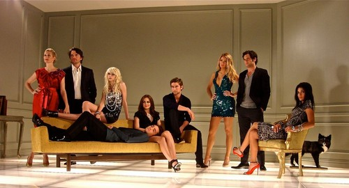 GOSSIP GIRL SEASON 3 Special фото shoot HD VERSION