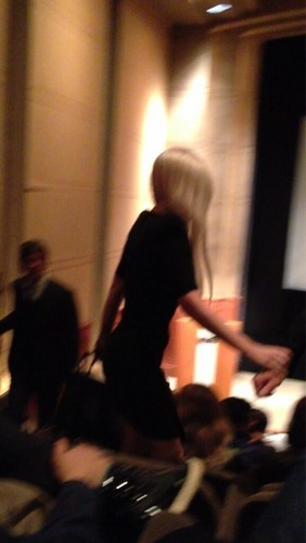"""Gaga at a screening of """"The Great Gatsby"""" in NYC (May 7)"""