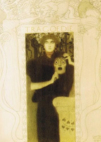 Gustav Klimt - Tragedy, 1897
