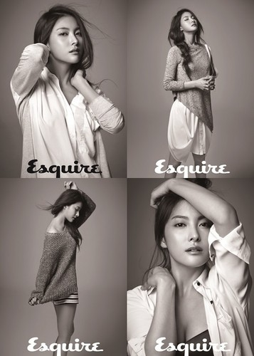 Gyuri at Esquire magazine