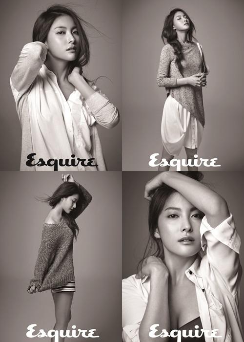 Gyuri at Esquire magazine