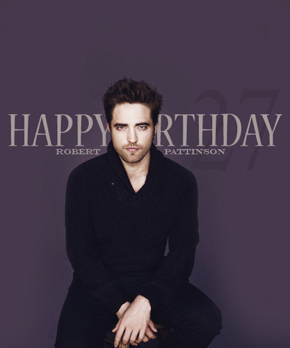 Happy 27th Birthday Rob!