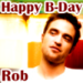 Happy B-Day Rob avatar - twilight-series icon