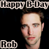 Robert Pattinson bức ảnh containing a portrait called Happy B-Day Rob avatars
