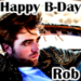 Happy B-Day Rob avatars - robert-pattinson icon