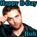 Happy B-Day Rob avatars - twilight-series icon