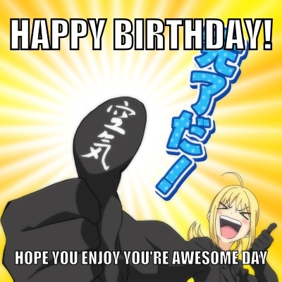 Happy Birthday Cynthia~ <3