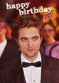 Happy Birthday,Robert!!!<3 - robert-pattinson-and-kristen-stewart photo