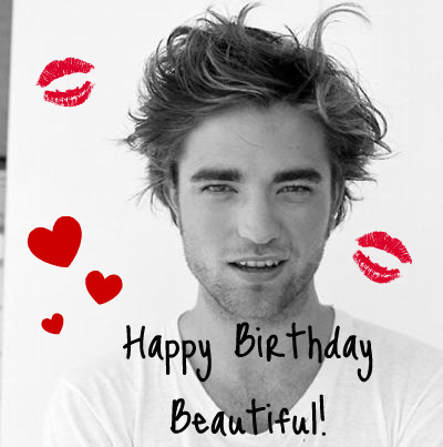 Robert Pattinson & Kristen Stewart 壁紙 probably containing a portrait called Happy Birthday Robert!!!<3