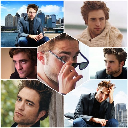 Robert Pattinson wallpaper entitled Happy Birthday Robert mashups