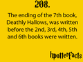 Harry Potter Facts - harry-potter fan art