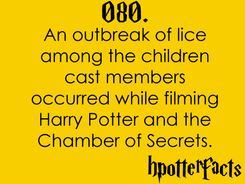 Harry Potter Facts