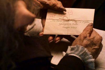 Harry's 1st Visit to Gringotts Wizarding Bank