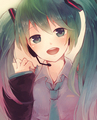 Hatsune Miku - vocaloid photo