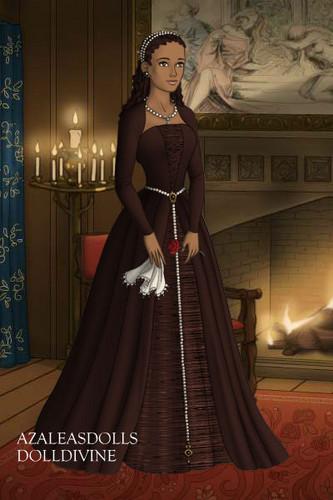Hazel Levesque In a Dress