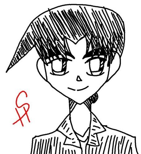 Heiji Hattori Sketch (saijou_Himitsu)