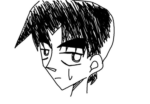 Heiji Hattori doesn't approve! (by: Saijou_Himitsu)