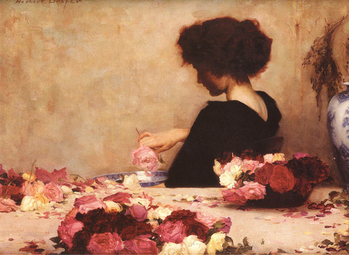 Herbert James Draper - Pot Pourri, 1897