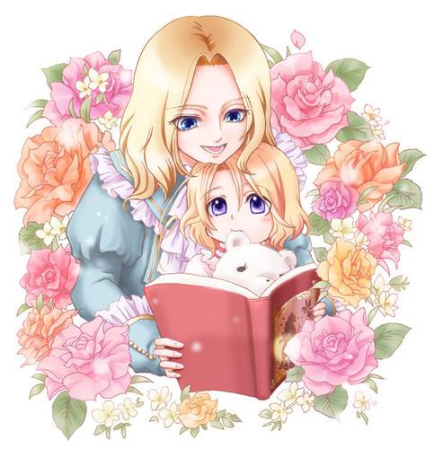 Hetalia Families