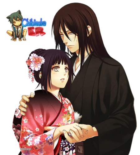 Naruto Shippuuden wallpaper containing a kimono called Hinata and Neji Hyuuga