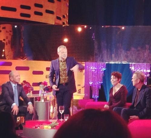 Hugh Laurie-Graham Norton Показать BBC- 06.05.2013