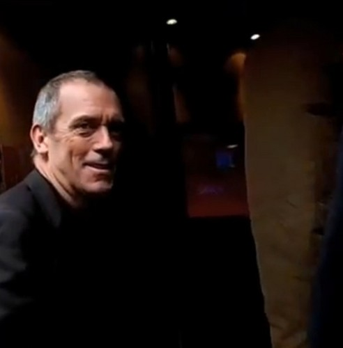 Hugh Laurie arriving at RTL Studio 2013