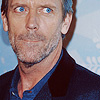 Хью Лори фото probably with a business suit, a well dressed person, and a portrait titled Hugh Laurie