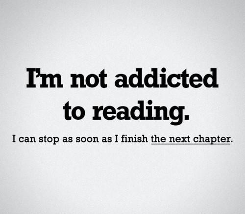 I'm Not Addicted...