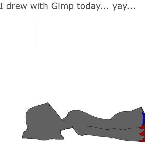 I tried using Gimp 2...