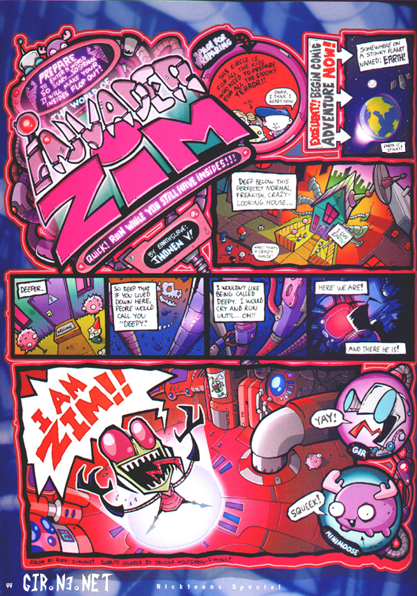 Invader Zim Fan Comics IZ comic. - Invader Zi...