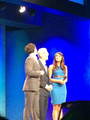 Ian &amp; Nina ON STAGE - ian-somerhalder-and-nina-dobrev photo