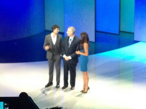 Ian at The CW's 2013 Upfront