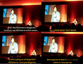 Ian speaks bulgarian - we all know were he got it from - ian-somerhalder-and-nina-dobrev photo