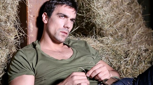 Turkish Actors and Actresses wallpaper possibly containing a grainfield titled Ibrahim Celikkol - ELLE May 2013