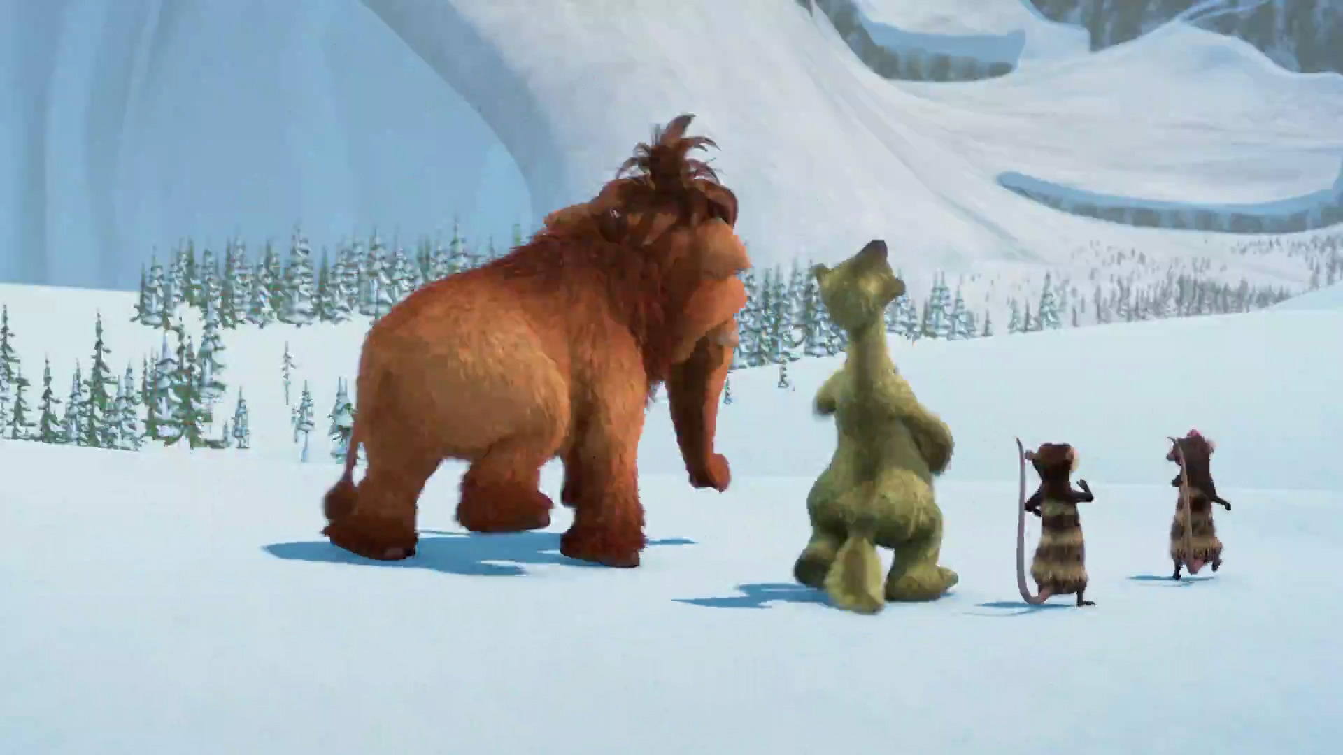 ice age Set against the onslaught of the ice age -- and a world filled with wonder and danger -- the story revolves around three unforgettable characters: a wooly mammoth, a.