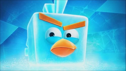Ice Bomb Angry Bird