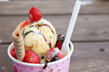 Ice cream  - food photo