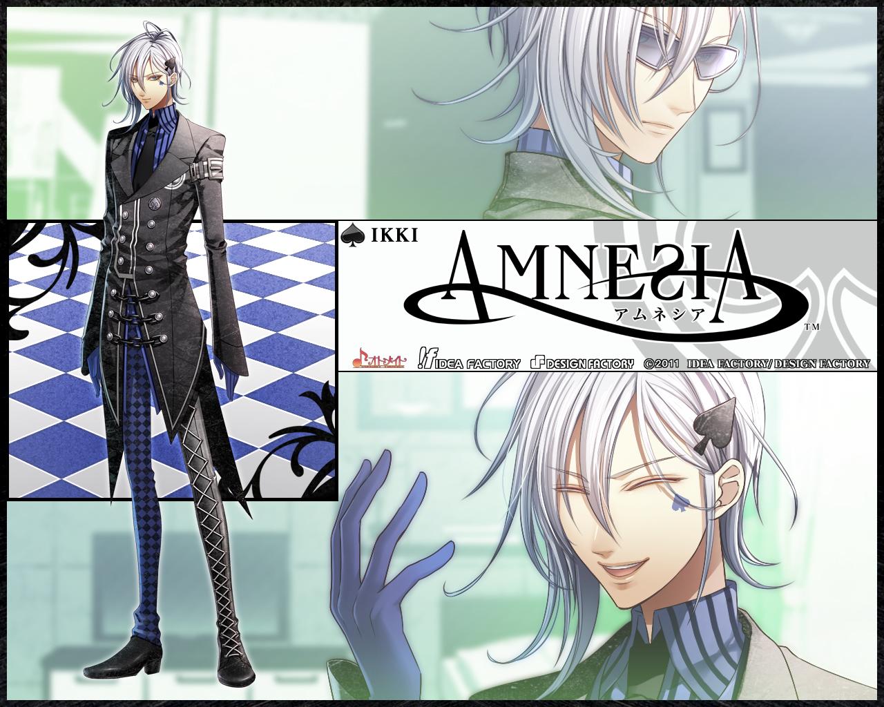 Ikkyu Amnesia アムネシア 壁紙 ファンポップ