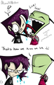Irken Kiss? - invader-zim-fancharacters photo