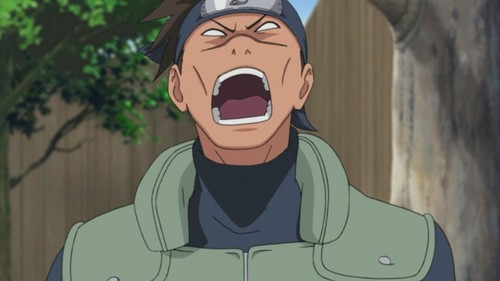 Iruka Scream and Shout and let it all out