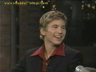 JTT on The Late Show with David Letterman (June 25th, 1997)