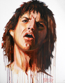 Jagger on Fire